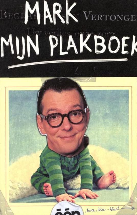Boek cover Mark Vertongen / Mijn plakboek van Petra de Pauw (Onbekend)
