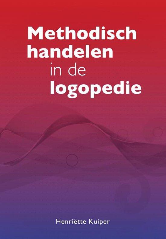 Boek cover Methodisch handelen in de logopedie van Henriëtte Kuiper (Paperback)