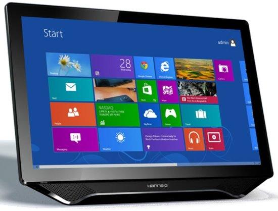 Hannspree Hanns.G HT231HPB touch screen-monitor