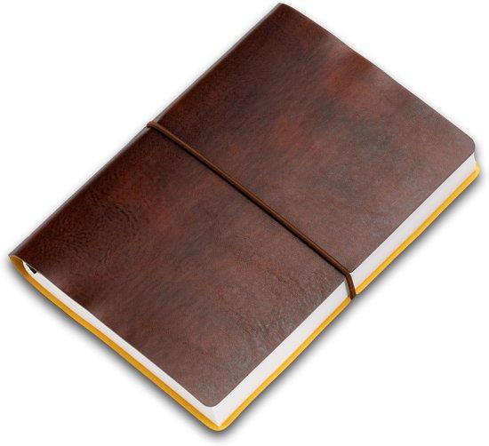CIAK notitieboek PITTI 12x17cm gelinieerd maronne