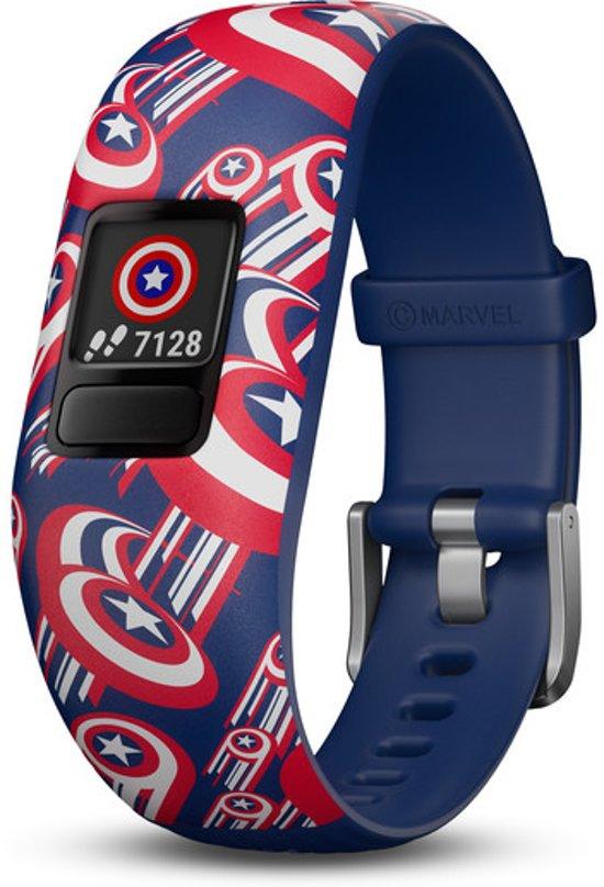 Garmin Vivofit Junior 2 - Activity Tracker voor Kinderen - Captain America® - Verstelbaar bandje