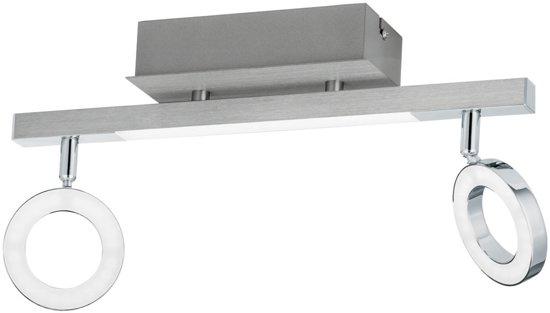 EGLO  Cardillio 1 - Spot - 3 Lichts - Aluminium, Chroom - Gesatineerd