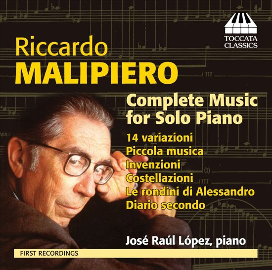 R.Malipiero: Music For Solo Piano