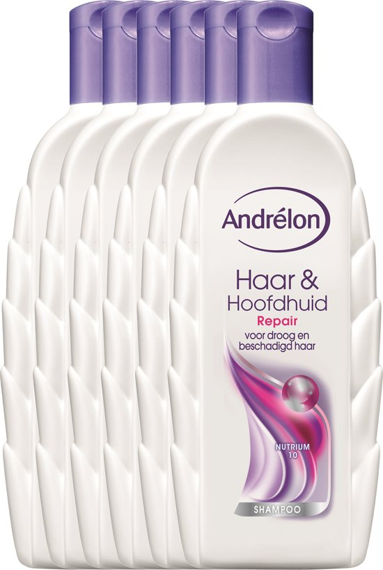 bol andrà lon haar hoofdhuid repair 6 x 300 ml shampoo