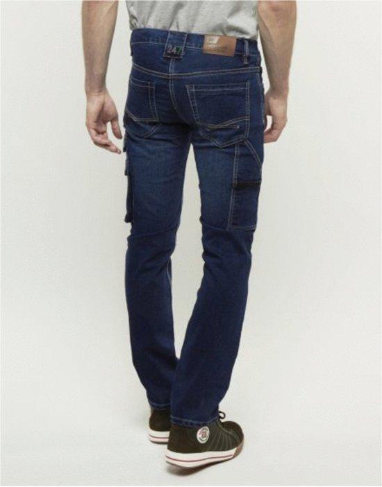 247 Jeans Spijkerbroek Rhino S20 Blauw - Werkkleding - L32-W38