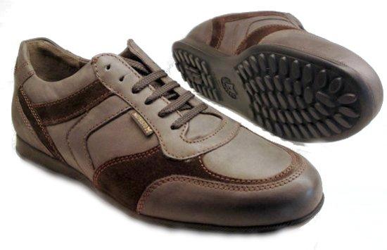 Cyriac GrijsMaat Lederen Voor Suede Sneaker Heren 42 Mephisto ul1cTJFK35