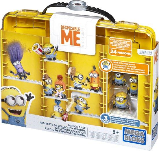 Mega Bloks Minions Koffer - Constructiespeelgoed