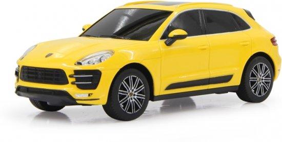 Bol Com Jamara Porsche Macan Turbo 1 24 Yellow 27mhz Jamara