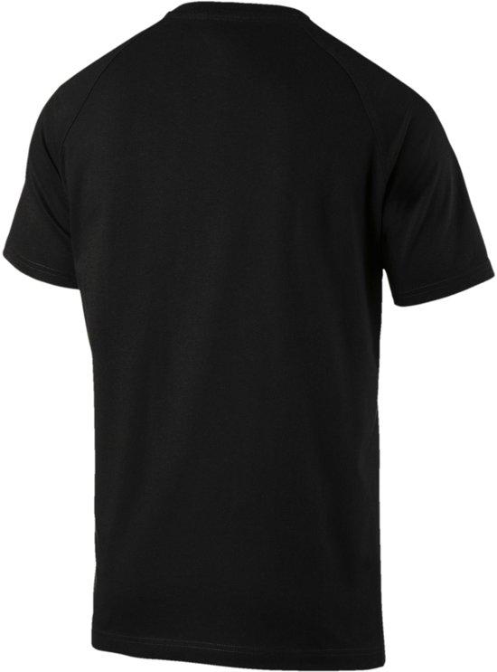 PUMA Mercedes AMG Logo Tee Shirt Heren - PUMA Black