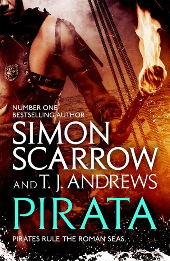 Boek cover Pirata: The dramatic novel of the pirates who hunt the seas of the Roman Empire van Simon Scarrow (Onbekend)