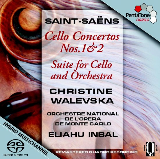 Saint-Saens: Cellokonzerte 1+2