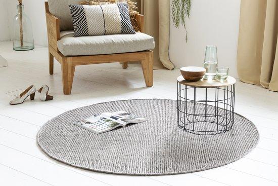 bol | ronde vloerkleden van 100% wol - teppe - 150 cm doorsnede