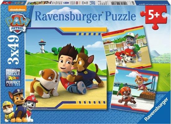 Ravensburger Paw Patrol - Helden met Vacht - Kinderpuzzel
