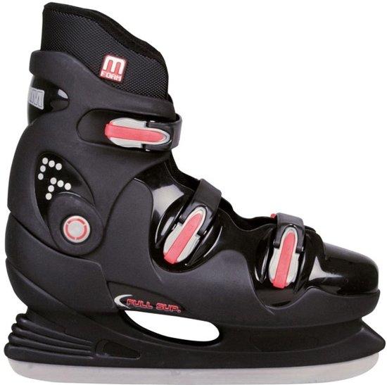 nieuwe lijst online te koop beste schoenen Nijdam 3353 Ijshockeyschaats - Semi-Softboot - Zwart/Blauw - Maat 40