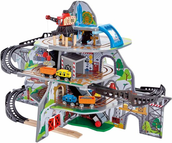 Bol Com Hape Mighty Mountain Mine Treinset Hape Speelgoed