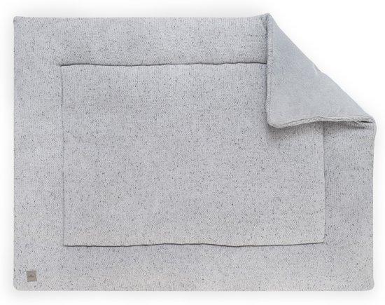 Jollein Confetti knit Boxkleed 80x100cm grijs