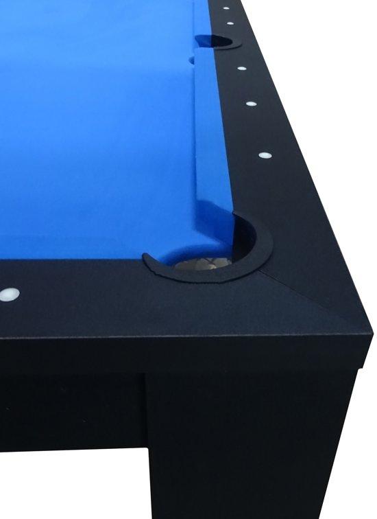 BuckShot Pooltafel Oxford 5ft - Zwart - 152 x 81 x 80 cm