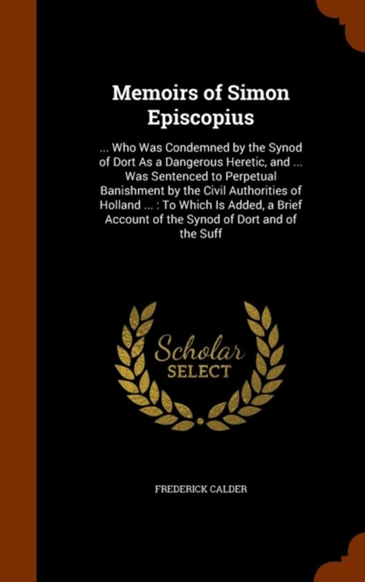 Memoirs of Simon Episcopius