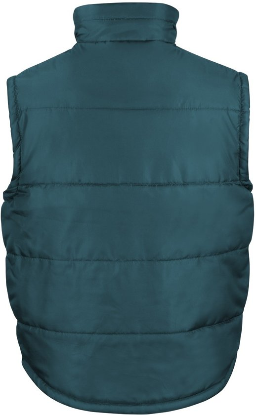 Gevoerde Fleece Kraag Groen Maat Bodywarmer Classic Xs Kleur met Senvi nS68qan