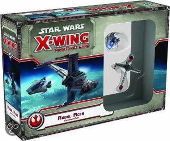 Afbeelding van het spel Star Wars X-wing Rebel Aces Expansion Pack - Uitbreiding - Bordspel