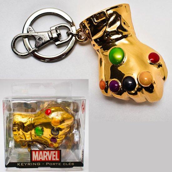 FANS Marvel Comics Metal Keychain Infinity Gauntlet
