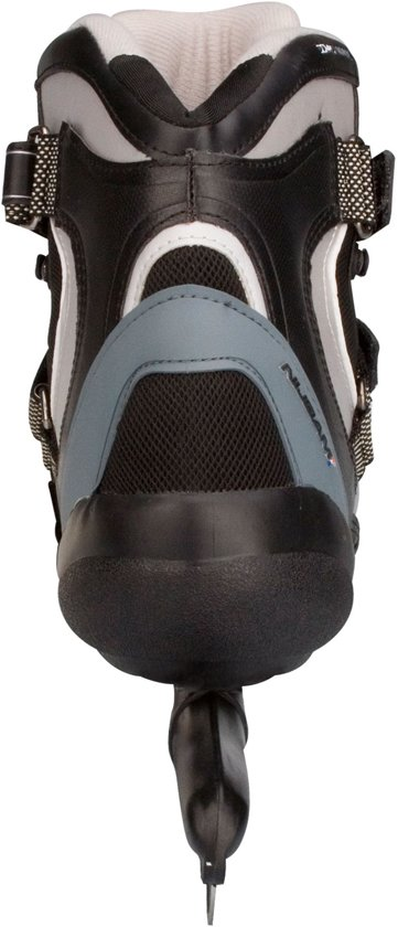 Nijdam Schaatsen - Maat 49 - Unisex - zwart/grijs
