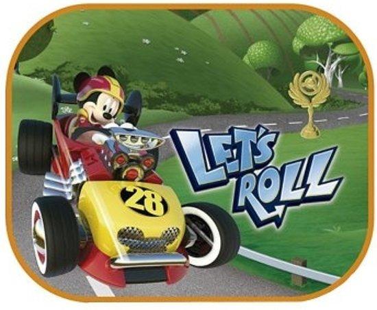 Disney Zonnescherm Mickey Mouse 2 Stuks 45 X 36 Cm Kleurplaat