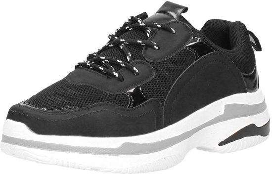 c32288d2912 bol.com | PS Poelman dad sneakers Zwart