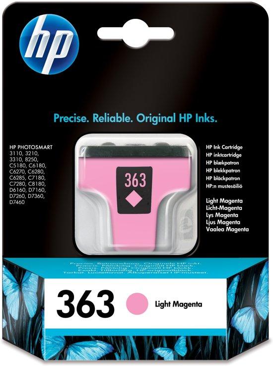 HP 363 - Inktcartridge / Licht Magenta