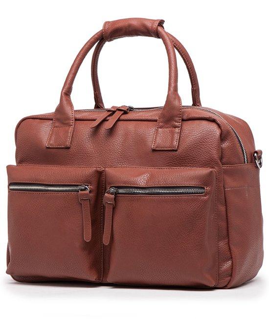 Wimona Alessia - School & Werk tas - 14 inch laptoptas - Cognac