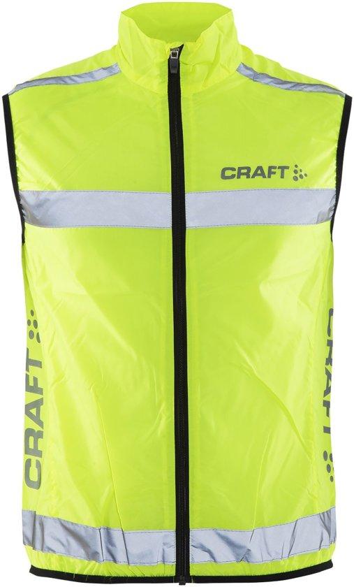 Craft craft visibility vest - Hardloopjas - Unisex - Neon - S
