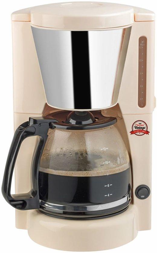 Bestron koffiezetapparaat 12 koppen 1000 W ivoor ACM100RE