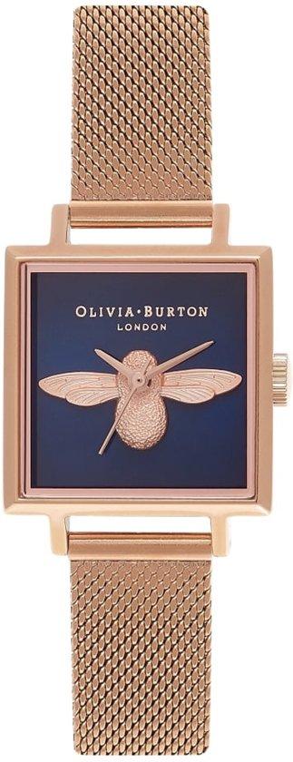 Olivia Burton Square Dial Horloge 3D Bee