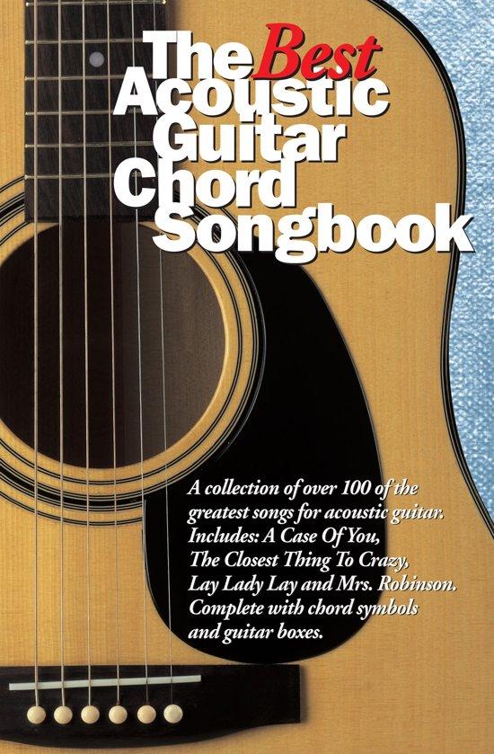 Bol The Best Acoustic Guitar Chord Songbook Ebook Wise