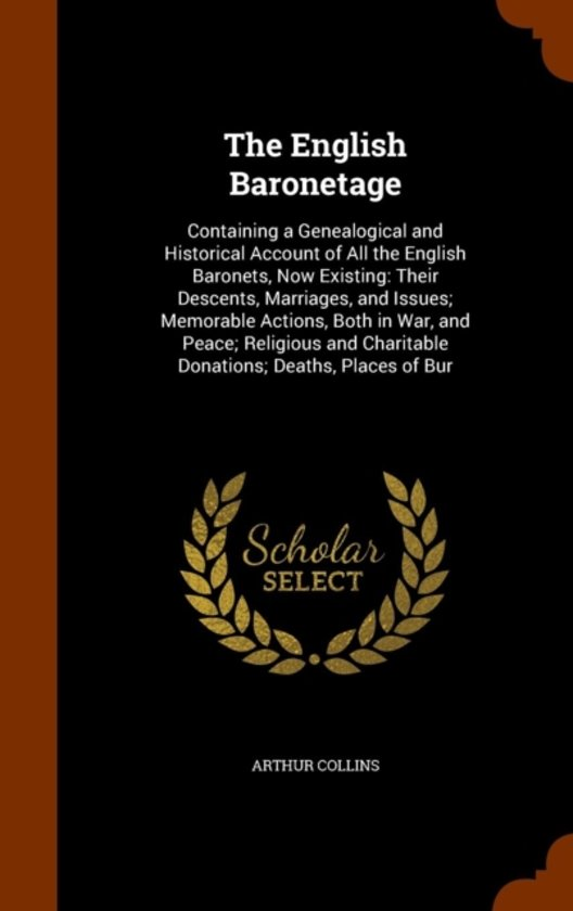 The English Baronetage