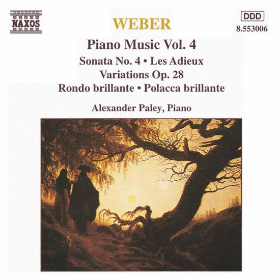 Weber: Piano Works Vol 4 / Alexander Paley