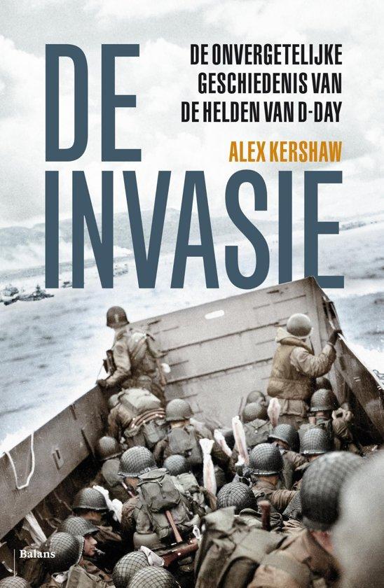 Boek cover De invasie van Alex Kershaw (Onbekend)