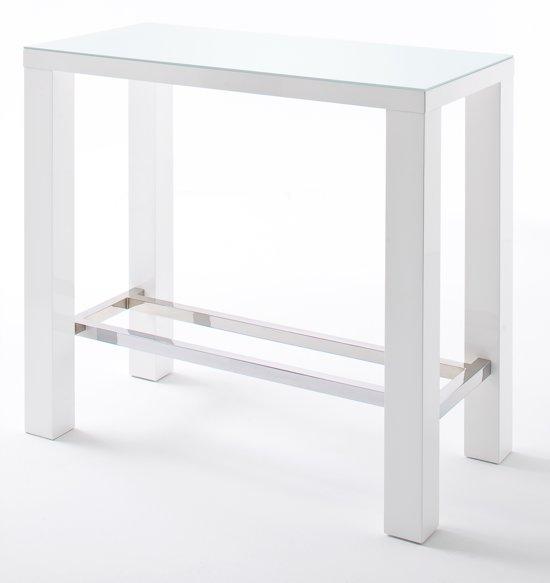 Hoogglans Wit Bartafel.Bol Com 24designs Bartafel Queen Glass L120 X B60 X H107 Cm