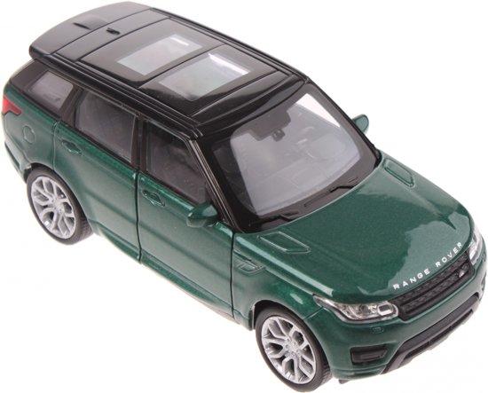 Welly Schaalmodel Land Rover Range Rover Sport Groen