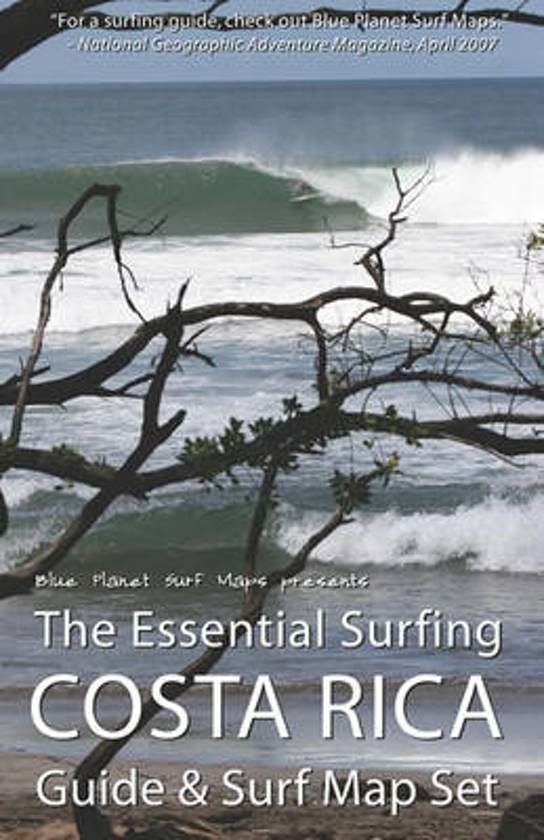 The Essential Surfing Costa Rica Guide & Surf Map Set cover