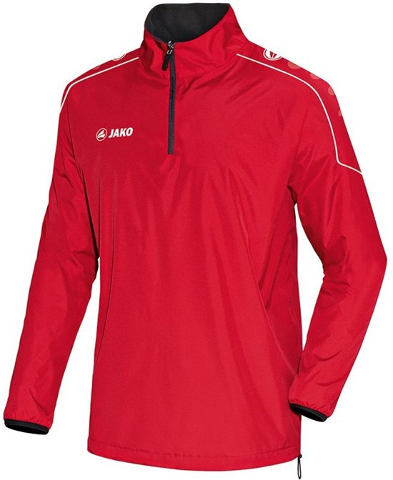 Jako - Reversible sweater Team Senior - rood/zwart - Maat XXL