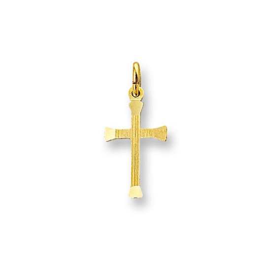 Huiscollectie 4005459 Gouden bedel kruis