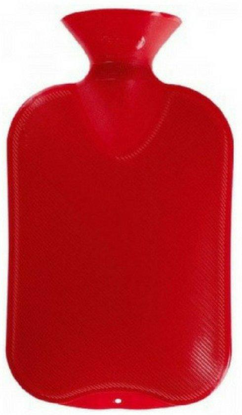 kruik   warmtefles  ROOD  kruiken   waterkruik   stopfles   1000ml   bedkruik   voetenwarmer   voor baby   kruikenzak   kruikzak