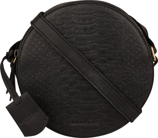99d0c0776d7 bol.com | BURKELY HUNT HAILEY X-OVER ROUND - Crossbodytas - Zwart