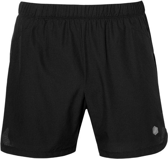 Asics 2IN1 5 Inch  Sportbroek - Maat S  - Mannen - zwart