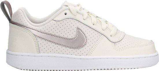 Nike Court Borough Sneakers - Maat 38.5 - Unisex - wit/zilver
