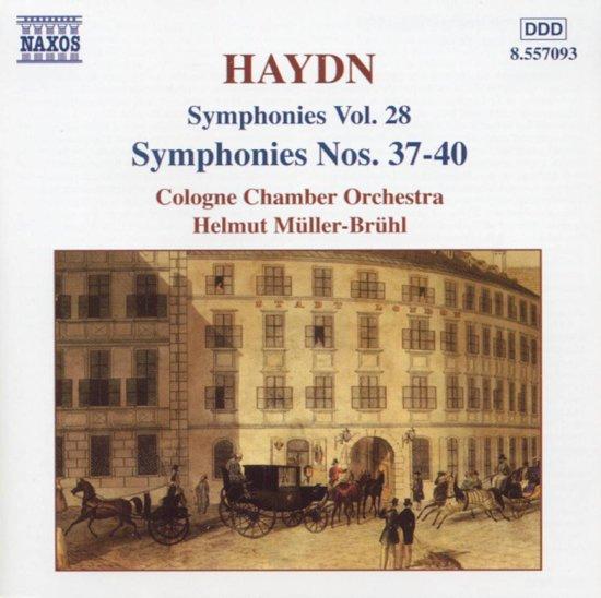 Haydn: Sym. Nos. 37-40