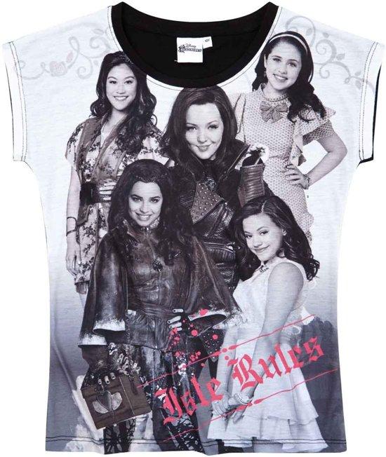 Disney-Descendants-T-shirt-met-korte-mouw-zwart-maat-152