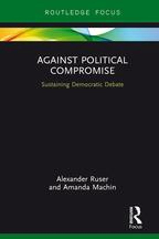 political compromise Listening to the talk of political compromise, i still cannot get over the fact that compromise, and particularly political compromise should be.