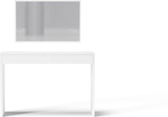 Moderne Witte Kaptafel.Bol Com Perfecthomeshop Moderne Kaptafel Princess Spiegel 2